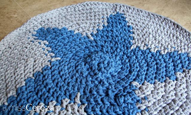 Diy alfombra de trapillo trenzado