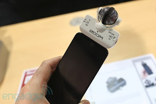 Zoom iQ5 Professional Stereo Microphone