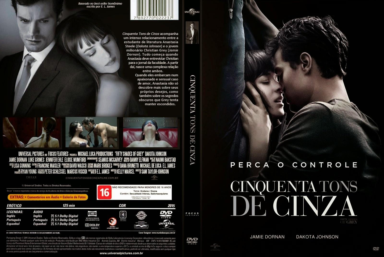CAPAS de DVDs Buiu de Jesus: CINQUENTA TONS DE CINZA