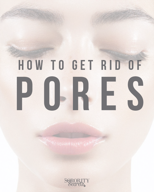 how to reduce the look of pores