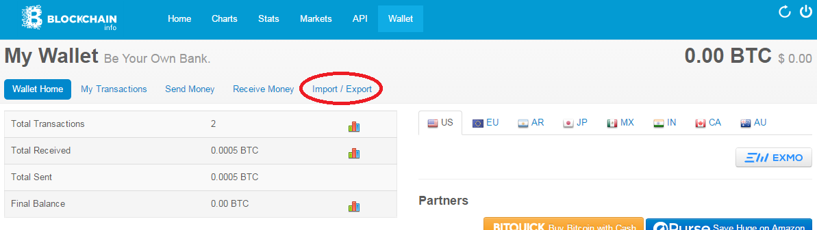 how to create private ether wallet
