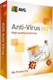 Key Antivirus AVG All Version 2012 1