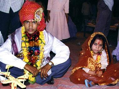 le mariage forc et arrang dune petite fille indienne une pratique rcurrente - Mariage Forc En Inde