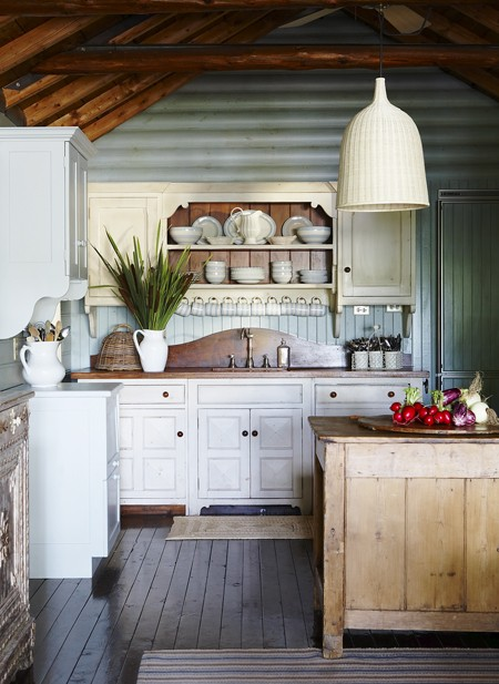 New home interior design storybook cottages for Country kitchen ideas on a budget
