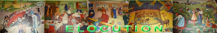Affiches scolaires : Elocution