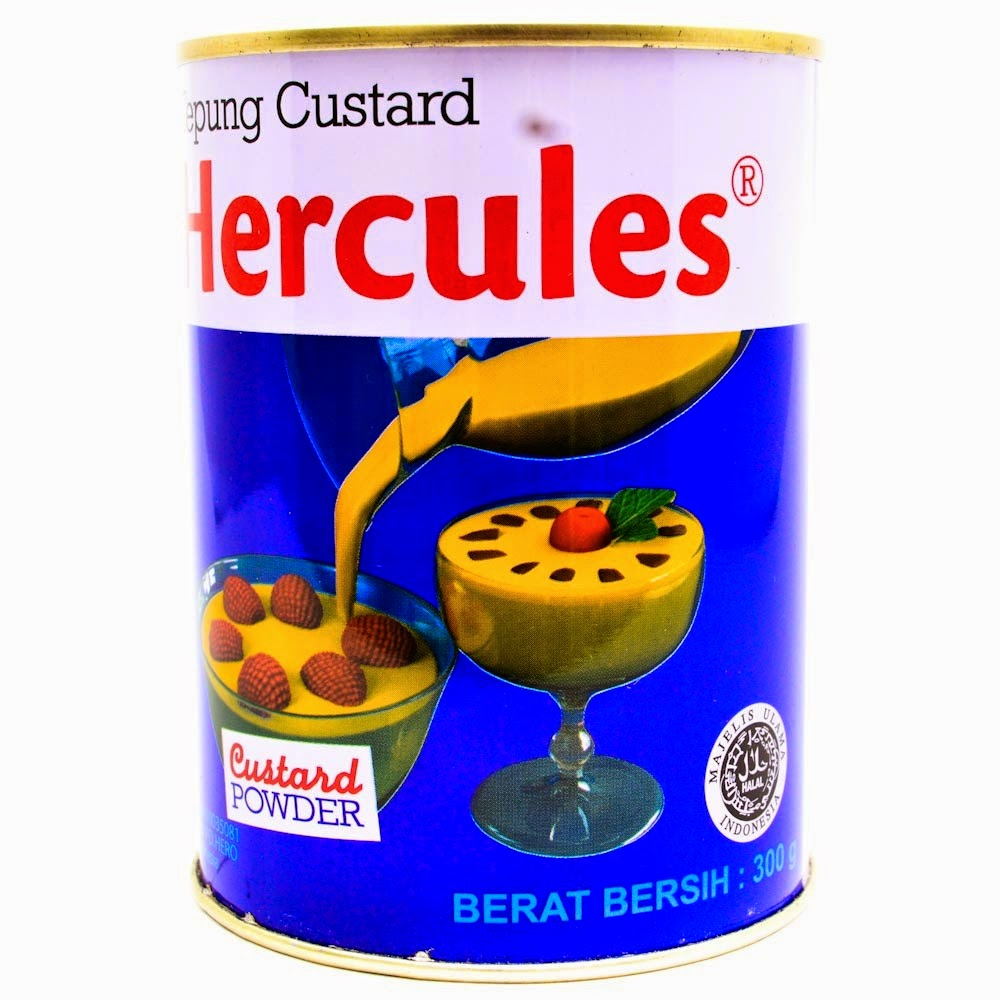 Tepung Custard (Custard Powder) merk Hercules
