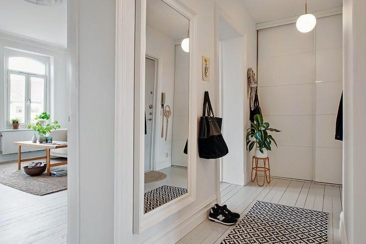 Perfeita ordem blog de decora o hall de entrada for Espejos para hall de entrada