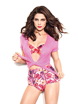 Ashley Greene covers Glamour Magazine