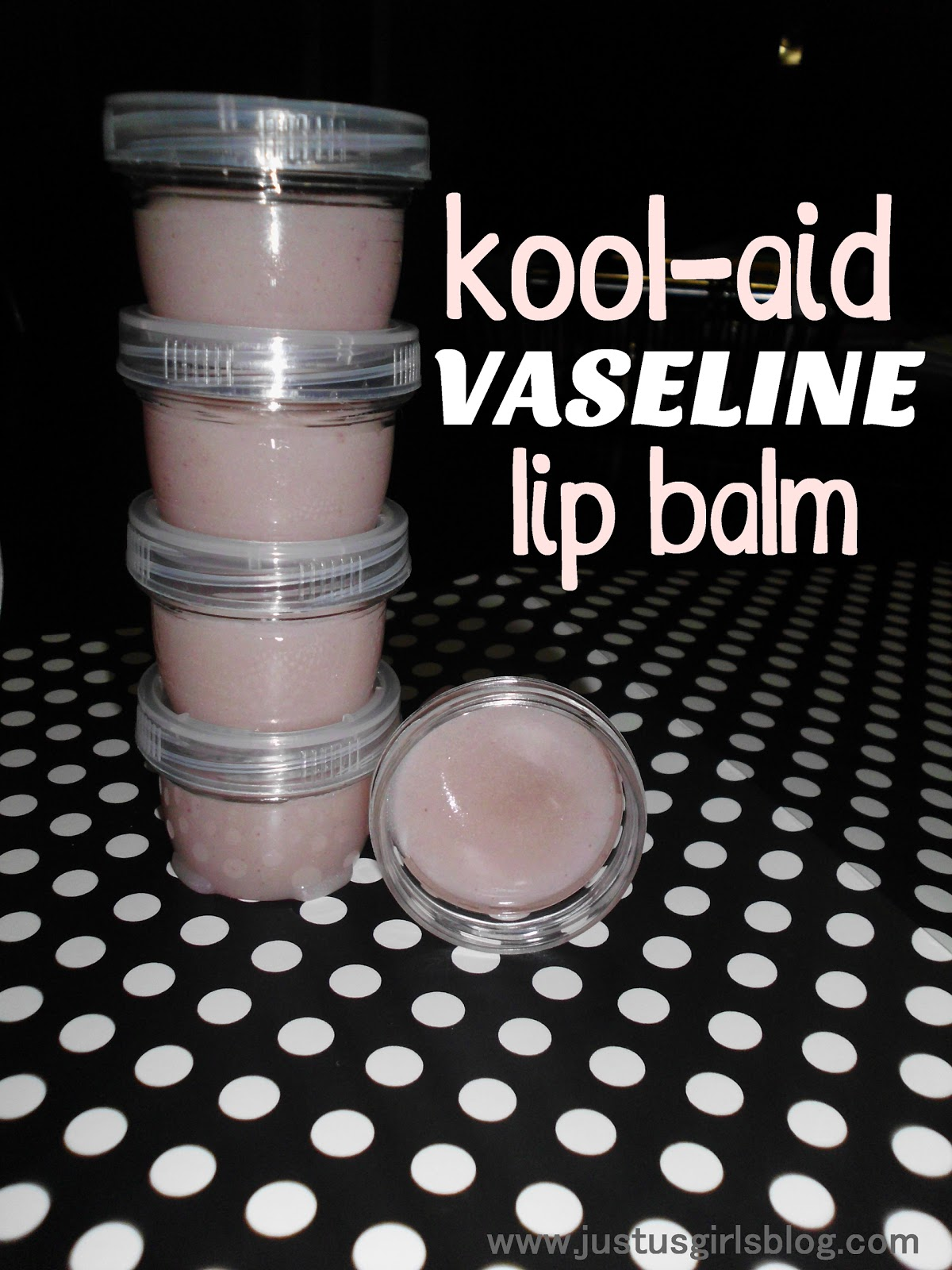 how to make lip gloss with vaseline and kool aid