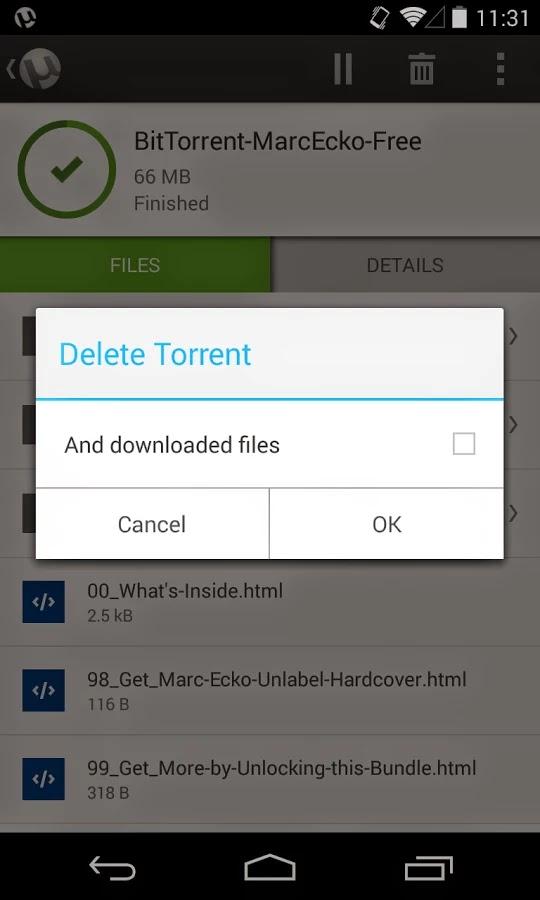 µTorrent® Pro - Torrent App v2.109