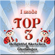 Yay, Top 3 at Delightful Challenges on 2nd September 2011