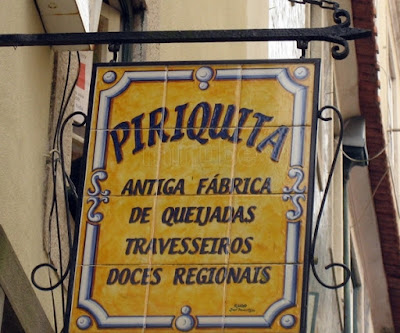 Azulejos de la Pastelería la Piriquita