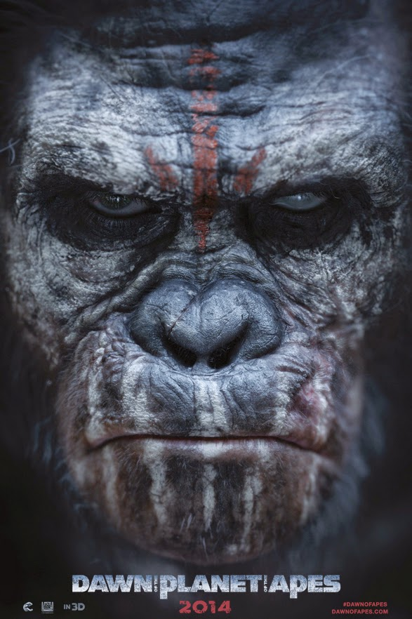 Dawn of The Planet of the Apes (2014) BluRay 720p + Subtitle Indonesia