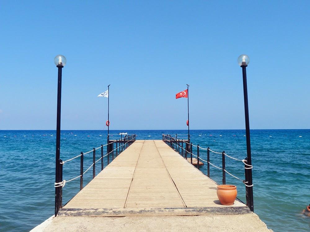 Sea from Club Salima