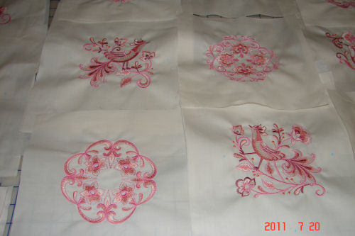 Jacobean Birds Embroidery Designs