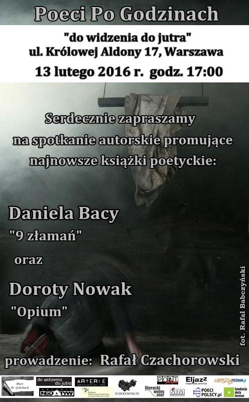 Daniel Baca & Dorota Nowak w Warszawie.