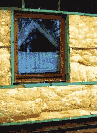 Каркас для утепления стен дома минеральной ватой