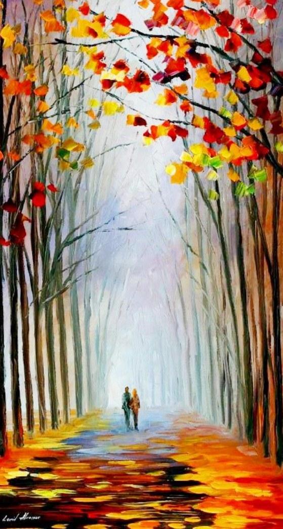 Im genes arte pinturas paisajes modernos impresionistas - Cuadros modernos faciles de pintar ...