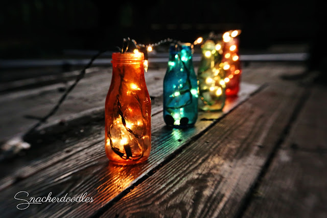Colored Jar Lights