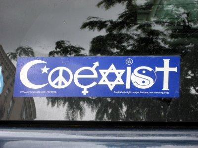 The Ignorant Fishermen Blog The Coexist Movement And Delusion