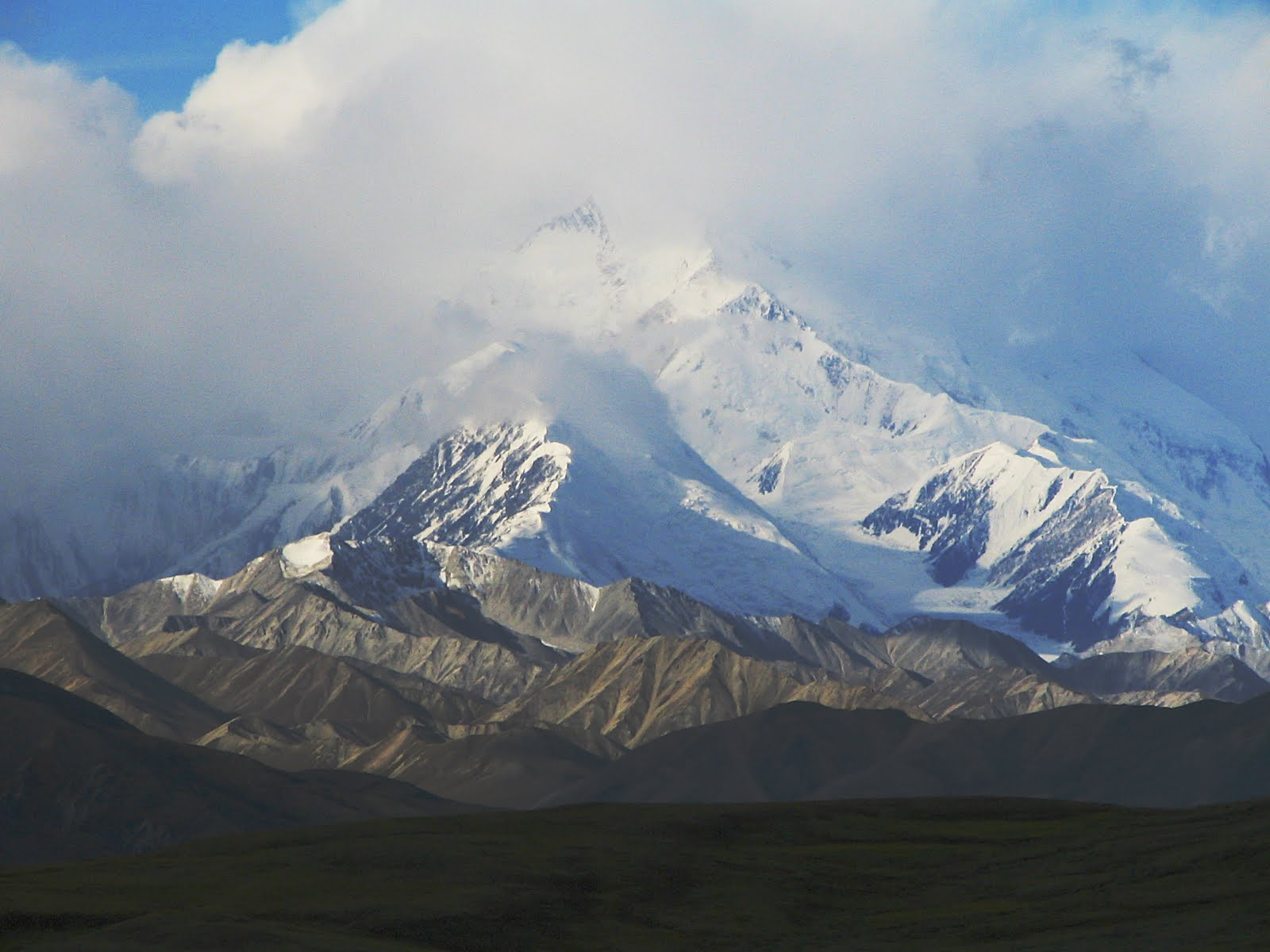 Subpeaks and nearby mountains of Mount McKinley (Denali) ~ Great Mountain