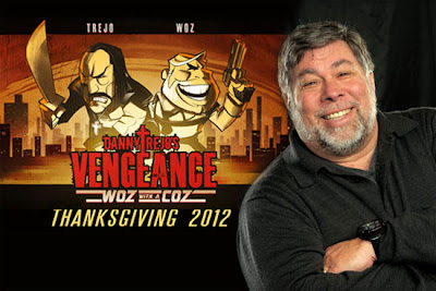 Danny Trejo's Vengeance Game with Stars Steve Wozniak Already Present