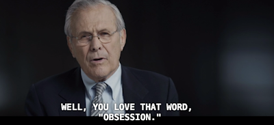 donald rumsfeld, the unknown known, rummy, rummies, errol morris, equivocation,