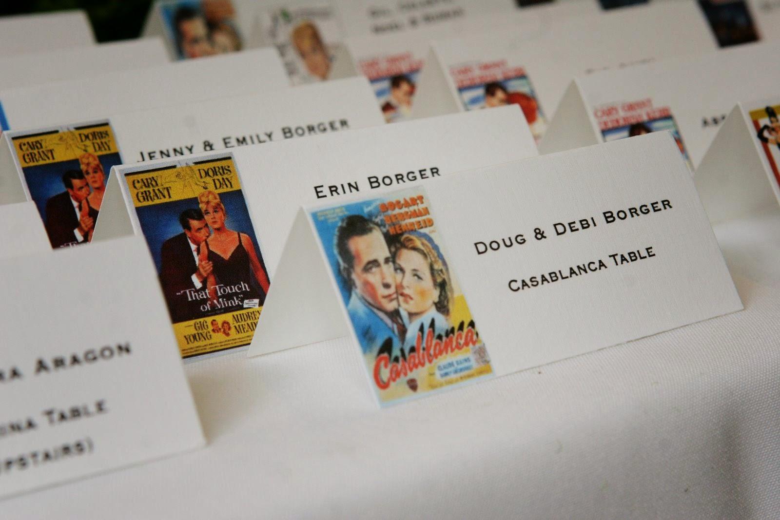 Ideas originales para nombrar las mesas del banquete de - Ideas originales para parejas ...