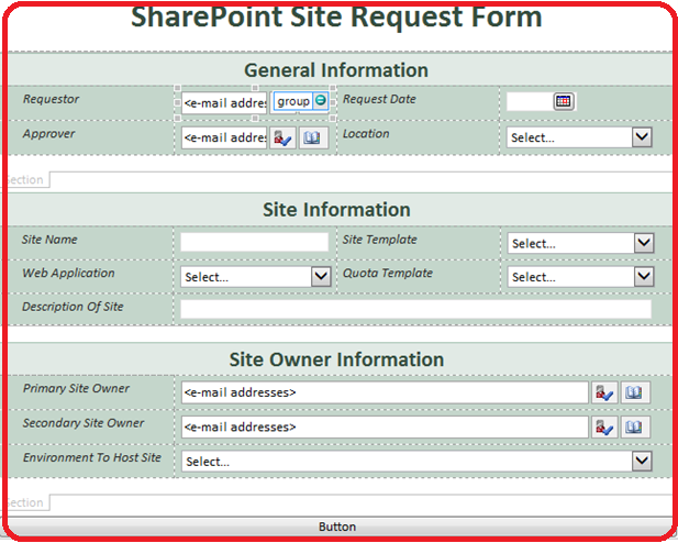 design and publish the infopath form   sharepoint 2013