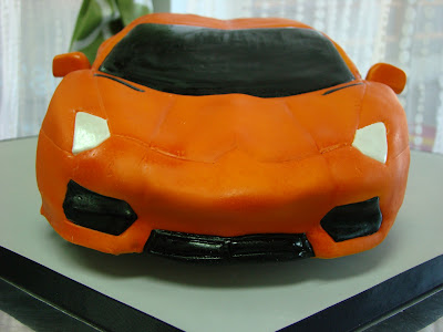 Sweet Cakes by Rebecca - Lambo Aventador cake
