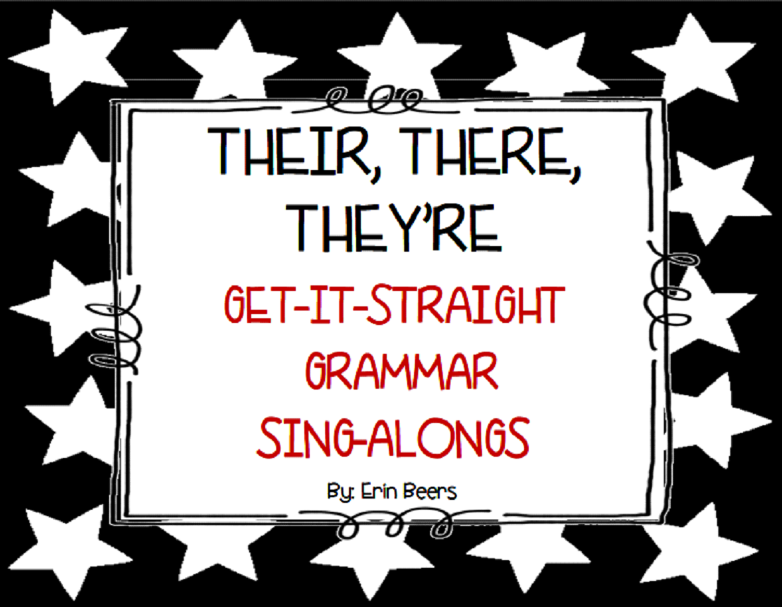 http://www.teacherspayteachers.com/Product/Their-There-Theyre-Fix-It-Grammar-Sing-Along-1152230