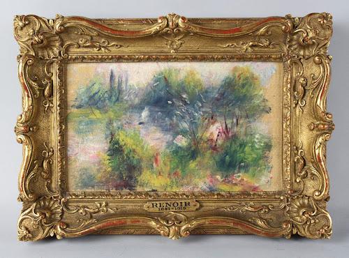 Quadro de Renoir comprado por 5 euros em mercado de rua volta para o museu de on
