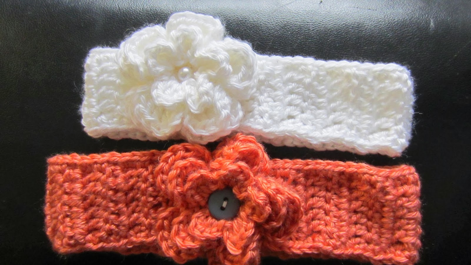 Free Crochet Pattern For Baby Headband With Flower ~ manet for .