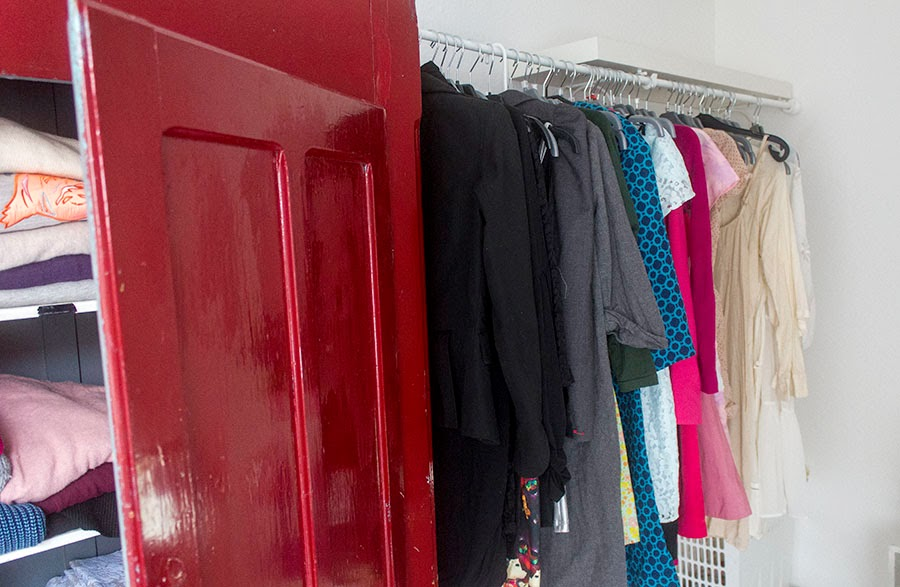 anylength clothes rack
