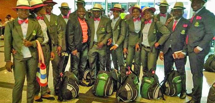 nigerian wrestlers glasgow