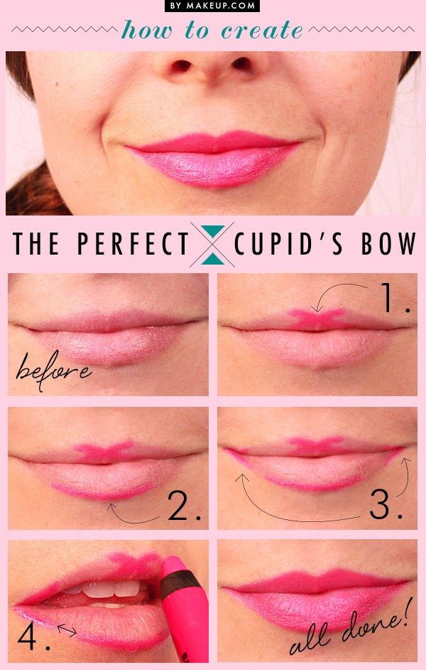 How Make Cupid Bow Lips Makeup Tutorial