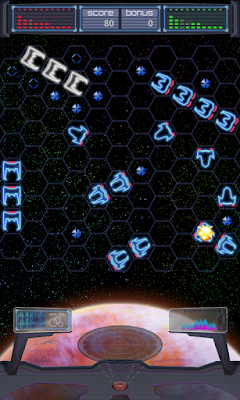 Battleship Sci-Fi battle screen