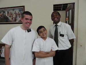 Thiago Gets Baptized