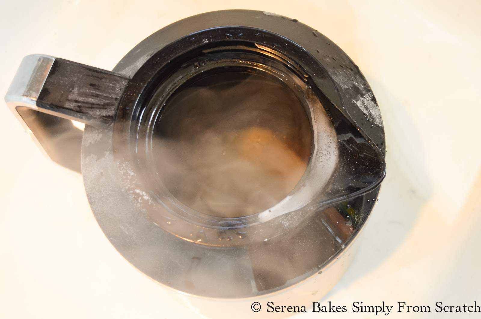 Coffee Pot Stains Cleaning : How To Clean A Stained Stainless Steel Coffee Pot - Serena Bakes Simply From Scratch