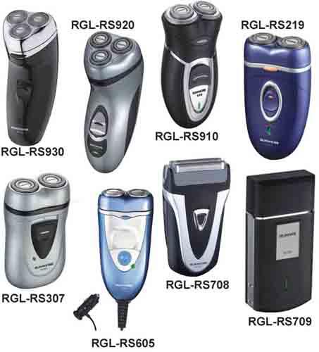 Types Of Electric Razors