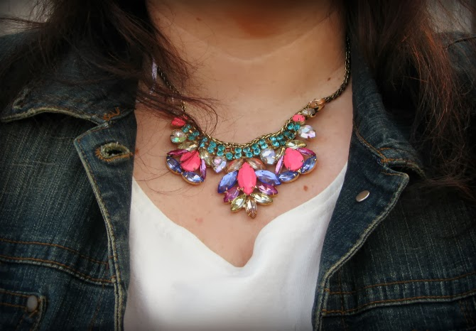 statment necklace H&M