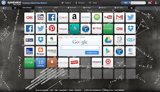 Screenshot of my Symbaloo