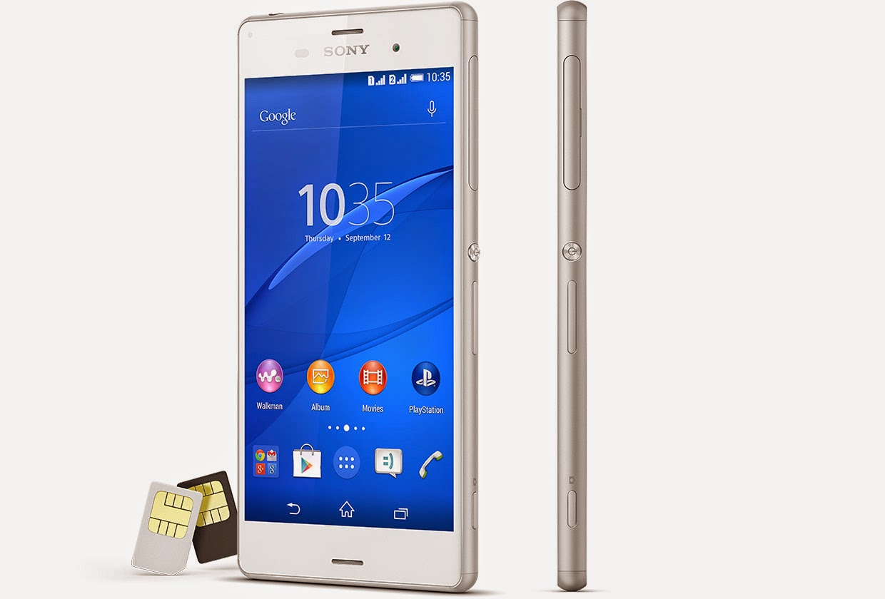 how to reset sony xperia z3v latest