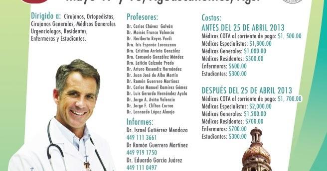 Colegio mexicano de ortopedia y traumatolog a for W de porter ortopedia