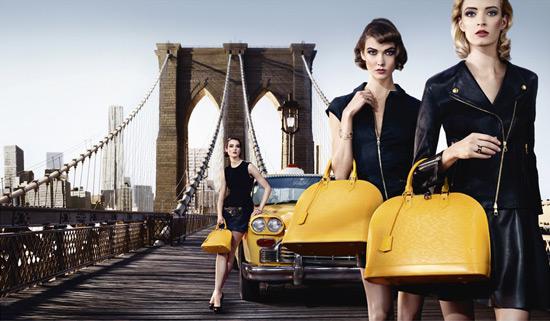 Louis Vuitton bolso Alma amarillo