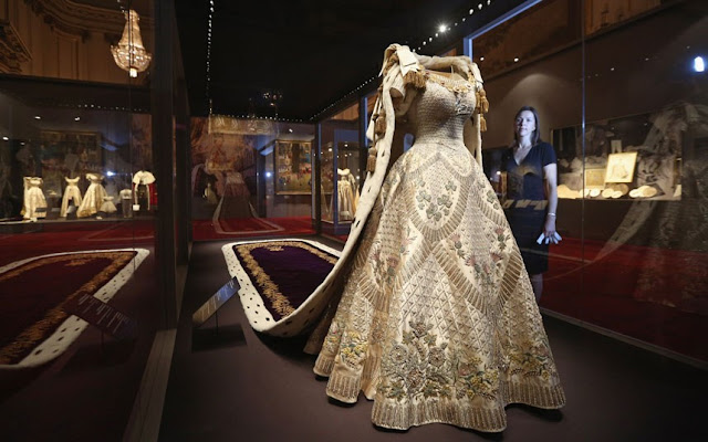 Queen Elizabeth II's Coronation dress and robe