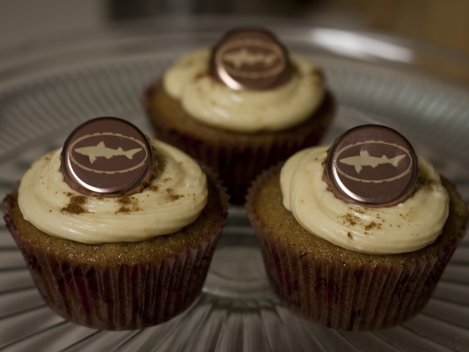 Not Just A Cupcake: Pumpkin + Beer + Cupcakes = Is it Fall ...