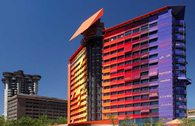 Innovation style and progress hotel puerta america madrid for Hotel silken puerta america plantas