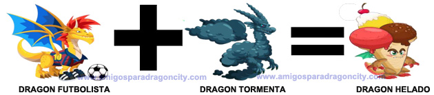 como conseguir el dragon helado en dragon city combinacion 2