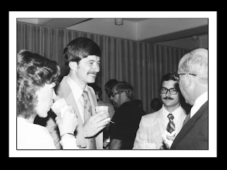 Dr. Dowling meets with Director Killinger in the early days of the program.